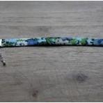 Bracelet Bague Boucles bleu