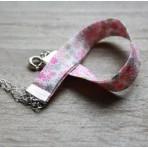 Bracelet Bague rose